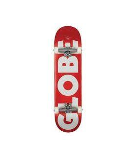 Skate Completo Globe G0 Fubar 8.0 - Blanco / Rojo