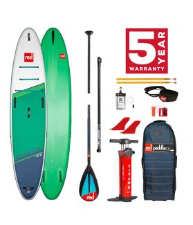 Pack Tabla SUP Hinchable Red Paddle Co. 2021 12´6´´ Voyager