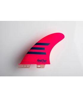 Quillas Surf Feather Fins Ultralight HC Epoxy FCS II L ROSA