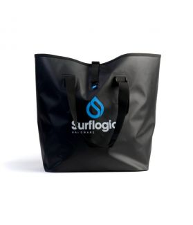 Bolsa Estanca Surflogic Waterproof 50 l. Negro