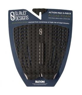 Pad / Grip Surf Slater Design 5 piezas Arch Traction Negro / Azul