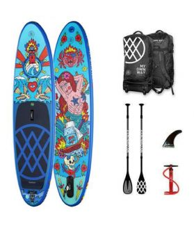 Pack Tabla SUP Hinchable Anomy Asis Percales 10´6´´