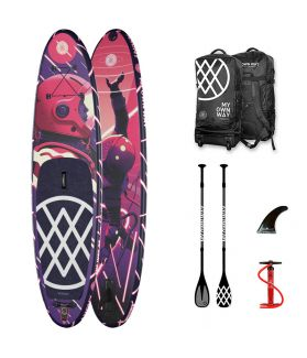 Pack Tabla SUP Hinchable Anomy The way of Sr Salme  10´8´´