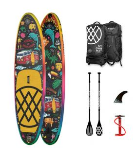 Pack Tabla SUP Hinchable Anomy 10'6 The Way of Venyason