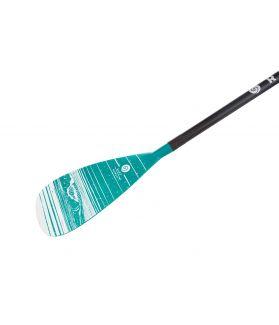 Remo Paddle Surf Radz Hawaii AR83 Carbono Ajustable 3 Piezas Sport/olas - Verde