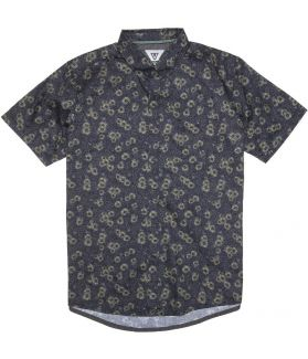 CAMISA VISSLA HONEY BOMB DARK NAVAL