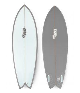 Tabla Surf DHD Mini Twin 5´5´´ GRIS FUTURES