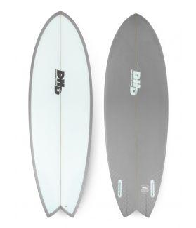Tabla Surf DHD Mini Twin II 5´7´´ GRIS FUTURES
