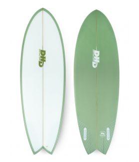 Tabla Surf DHD Mini Twin II 5´3´´ VERDE FUTURES