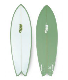 Tabla Surf DHD Mini Twin 5´4´´ VERDE FUTURES