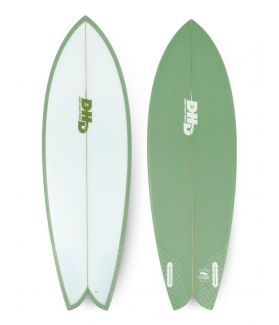 Tabla Surf DHD Mini Twin II 5´7´´ VERDE FUTURES
