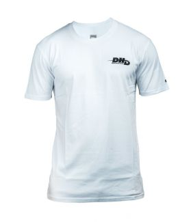 CAMISETA SURF DHD PERFORMANCE BLANCA / NEGRA