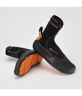 Escarpines / Botas Neopreno Solite Custom 5mm Negro / Naranja