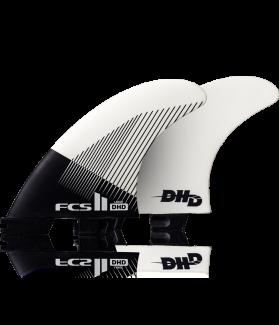 QUILLAS SURF DHD FCS II TRI FIN WHITE TALLA M