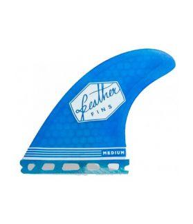 Quillas Surf Feather Fins Ultralight FCS M AZUL