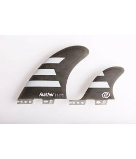Quillas Surf Feather fins Twin 2+1 Hc Click Tab