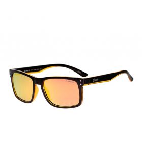 Gafas Liive Cheap Thrill - Revo Negro-Naranja Mate