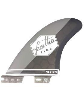 Quillas Surf Feather Fins Ultralight FCS II M Negro