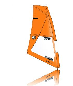 Vela Windsurf Vandal Start 2015            3.5