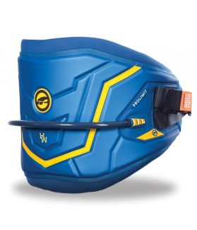 Prolimit Arnés Cintura Windsurf 2016 Moulded Azul / Amarillo