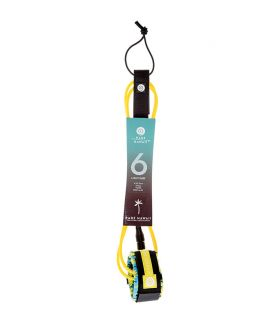 LEASH SURF RADZ HAWAII LIGHT SURF 6' AMARILLO