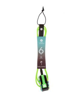 LEASH SURF RADZ HAWAII HARD SURF 6' VERDE