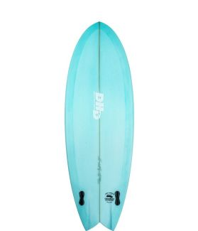 Tabla Surf DHD Mini Twin II Asher Pacey 5'3'' TEAL RESIN TINT FUTURES