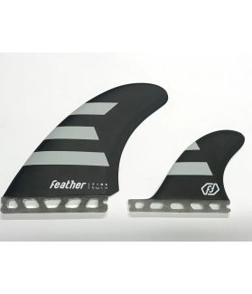Quillas Surf Feather Fins Twin 2+1 Hc FUTURES