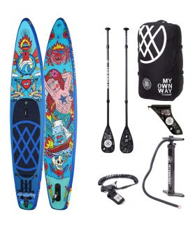 Pack Tabla SUP Hinchable Anomy Asis Percales 11´6´´