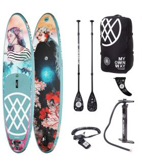 Pack Tabla SUP Hinchable Anomy Elena Garnu 9´8´´