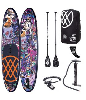 Pack Tabla SUP Hinchable Anomy Paiheme 10'6