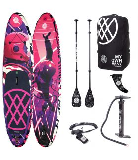 Pack Tabla SUP Hinchable Anomy The way of Sr Salme  10´6´´