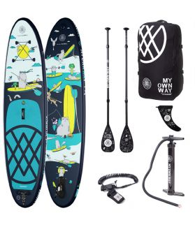 Pack Tabla SUP Hinchable Anomy The Way of Xurris & Co. 9´8´´