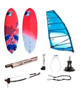 PACK COMPLETO WINDSURF  TABOU ROCKET PLUS CED / GAASTRA MATRIX