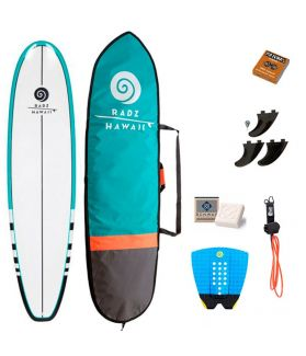 Pack Completo Surf Radz Hawaii Evo 6'4''
