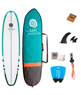 Pack Completo Surf Radz Hawaii Longboard 9'0''
