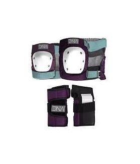 Pack Protecciones Skate DNA Niño