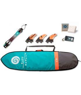 PACK ACCESORIOS SURF SHORT ROUND