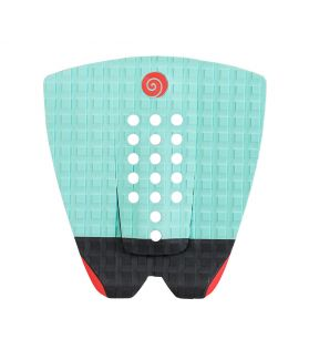 GRIP / PAD SURF RADZ HAWAII SUNSET TURQUESA / NEGRO / ROJO