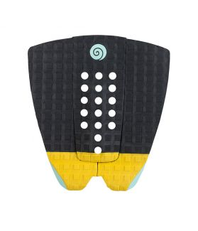 GRIP / PAD SURF RADZ HAWAII SUNSET NEGRO / AMARILLO / TURQUESA
