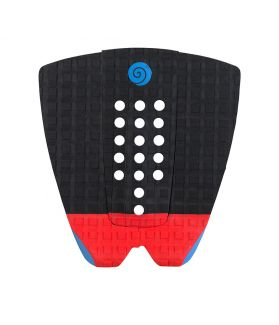 Grip / Pad Surf Radz Hawaii Sunset Negro / Rojo / Azul