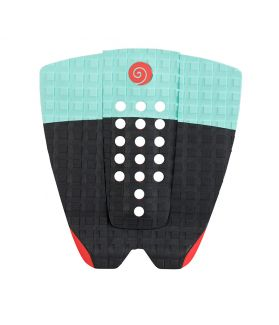GRIP / PAD SURF RADZ HAWAII SUNSET NEGRO / TURQUESA / ROJO II