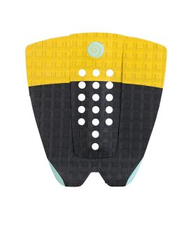 Grip / Pad Surf Radz Hawaii Sunset Negro / Amarillo / Turquesa II