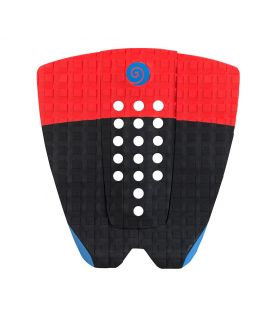 Grip / Pad Surf Radz Hawaii Sunset Negro / Rojo / Azul II