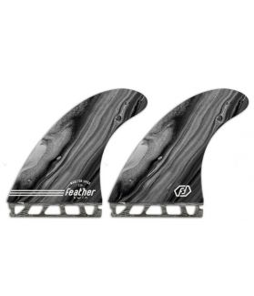 Quillas Surf Feather Fins Performance Twin FUTURES GRIS