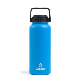 Botella agua isotérmica Surflogic 950ml. (32 Oz.) AZUL
