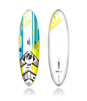 TABLA WINDSURF TABOU  ROCKET CED 2017           125