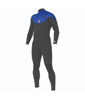 Traje Neopreno Prolimit 2019 Vapor Freezip-x 5/4/3 Gris/azul