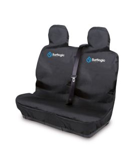 FUNDA ASIENTO COCHE DOBLE SURF LOGIC WATERPOROF SEAT COVER NEGRO