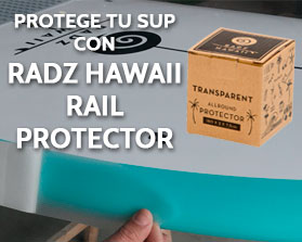 Radz Hawaii Stand Up Paddle Surf Rail Protector